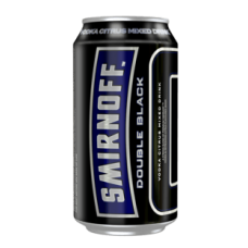 Smirnoff Ice Double Black Cans